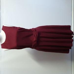Ojay red velvet dress Size 12